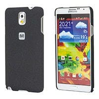 PC Case with Soft Sand Finish for Galaxy Note 3 -  Pumice Black