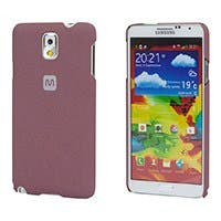 PC Case with Soft Sand Finish for Galaxy Note® 3 -  Brick Red