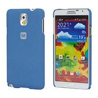 PC Case with Soft Sand Finish for Galaxy Note® 3- Azurite Blue
