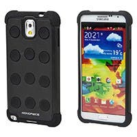 DotDefender PC+Silicone Case for Samsung Galaxy Note 3 - Black
