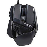 6-Key Ergonomic Gaming Mouse with Adjustable Sensor Rate (800/1200/1600)