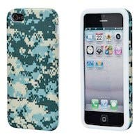 Textile Silicone Case for iPhone® 5/5s - Digital Camo