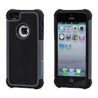 MicroHex Case for iPhone® 5/5s - Black/Gray