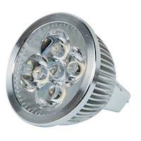 4-Watt (25W Equivalent) MR 16 GU 5.3 LED Bulb, 249 Lumens, Neutral/ Bright (3500K) - Non-Dimmable