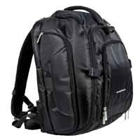 DSLR Camera/15.6 inch Laptop Backpack - Black