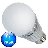 270° 10-Watt (60W Equivalent) A 19 LED Bulb, 810 Lumens, Cool/ Daylight (6000K) - Non-Dimmable (6-Pack)