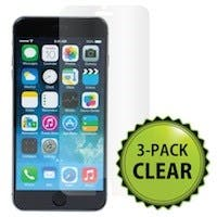 Screen Protector (3-Pack) w/ Cleaning Cloth for 5.5-inch iPhone® 6 Plus and 6s Plus - Transparent Finish