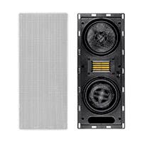 Amber 6.5-inch Carbon Fiber 3-way In-Wall Column Speaker with Ribbon Tweeter (each)