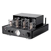 Stereo Hybrid 50-watt Tube Amp with Bluetooth and Preamp Out
