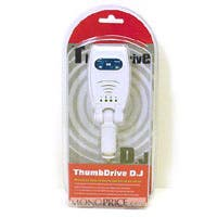 Product Image for Thumb Drive D.J USB/Audio with FM Transmitter for Car stereo MP3 iPod Nano