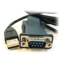 Product Image for USB to Serial Convert Cable(DB9M/USB B female converter and USB A/B cable) 