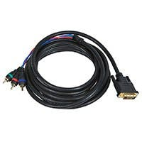 Product Image for 12ft DVI-I to 3 RCA Component Video Cable (DVI-I - 3-RCA) 
