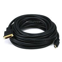 35ft 24AWG HDMI® to M1-D (P&D) Cable - Black