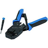 Product Image for Professional Modular Crimps, Strips, and Cuts Tool with Ratchet [HT-2008AR]