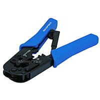 Product Image for Multi-Modular Plug Crimps, Strips, and Cuts Tool with Ratchet [HT-N5684R]