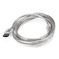 Product Image for 6ft SATA External Round Cable - eSATA to eSATA (Type I to Type I) - Silver