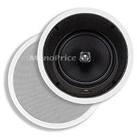 Product Image for 8 Inches Kevlar In-Ceiling Speakers (Pair) - w/ 15 Degree Angled Woofer