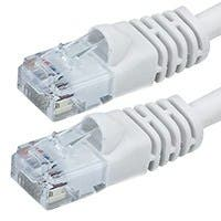 Product Image for 75FT 24AWG Cat6 550MHz UTP Ethernet Bare Copper Network Cable - White