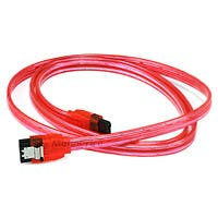 Product Image for 36inch SATA 6Gbps Cable w/Locking Latch - UV Red
