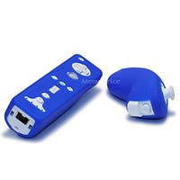 Product Image for Silicone Skin for Wii Remote Control and Nunchuk - Blue