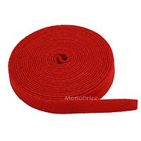 Product Image for Fastening Tape 0.75inch One Wrap Hook & Loop Fastening Tape 5 yard/Roll - Red