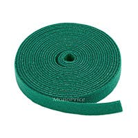 Product Image for Fastening Tape 0.75inch One Wrap Hook & Loop Fastening Tape 5 yard/Roll - Green