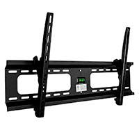 Ultra-Slim Adjustable Tilting Wall Mount Bracket for LCD LED Plasma (Max 165 lbs, 37~63 inch)