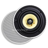 Product Image for 6-1/2 Inches Easy-Install In-Ceiling Speaker (Pair) - 40W Nominal, 80W Max