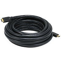 Product Image for 20ft 22AWG CL2 High Speed HDMI® Cable With Ethernet - Black