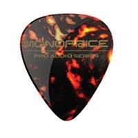 Medium Celluloid Guitar Picks - 12 pc - Fire Red
