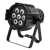 Bright, 8-watt x 7 LED, PAR-575 StageLight (RGBW)