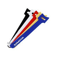 Product Image for Hook & Loop Fastening Cable Ties 6inch, 100pcs/Pack - 5 Colors
