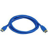 6ft USB 3.0 A Male to A Female Extension 28/24AWG Cable (Gold Plated)