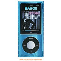 Silicone Case with Diamond Shape Texture for iPod® Nano 5G - Blue