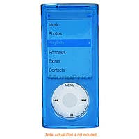 Product Image for Crystal Case for iPod� Nano 5G - Blue
