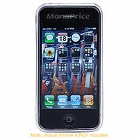 Product Image for TPU Case for AT&T iPhone 4 - Clear