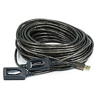 Product Image for 65ft 20M USB 2.0 A Male to A Female Active Extension / Repeater Cable (Kinect & PS3 Move Compatible Extension)