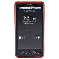 Product Image for TPU Case for Motorola Droid X & Droid X2 - Red