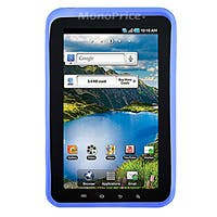 Product Image for Silicone Case with Fingerprint Pattern for 7 inch Galaxy Tab - Blue