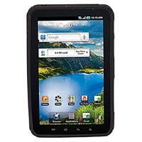Product Image for Matte Finish Polycarbonate/TPU Case for 7 inch Galaxy Tab - Black
