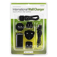 Product Image for International Wall Charger for all 30-pin iPad, iPhone, and iPod - Black