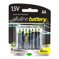 AA Alkaline Battery 8-Pack