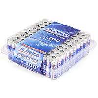 Product Image for ACDelco Maximum Power AA Alkaline Battery 100-Pack, Re-closable