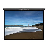 Product Image for Motorized Projection Screen (Somfy Motor) w/ IR Remote - Matte Gray Fabric (106 inch, 16:9)