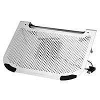 Product Image for Multi Purpose Laptop Cooling Stand w/ Removable 80mm Fan - Gray
