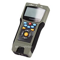 Professional Coaxial, RJ-45, and RJ-11/12 Multifunction Tester w/ LCD Display