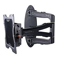 Product Image for Adjustable Tilting/Swiveling TV Wall Mount Bracket for LCD LED Plasma (Max 132Lbs, 13~37inch)