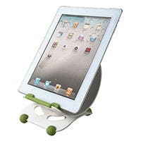 Product Image for Angle Adjustable Desktop Stand for all 9.7-inch iPad� and Tablets - White