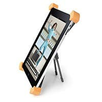 Product Image for Aluminum Rotatable & Foldable Desktop Stand for all 9.7-inch iPad® - Black
