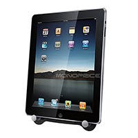 Product Image for Compact Foldable Desktop Stand for all 9.7-inch iPad® - Black